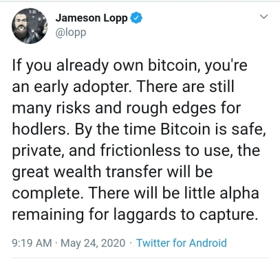 This image has an empty alt attribute; its file name is lopp-quote-btc-early-adoption-.jpg